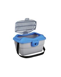 TRIXIE Bo X mini-capri 40 x 22 x 30 cm albastru/argintiu