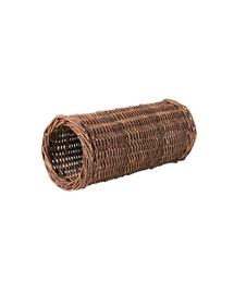 TRIXIE Tunel răchită pentru porcușori de guinea 15 x 33 cm