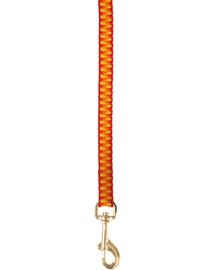 ZOLUX Lesă Seventies 1 M / 10 mm portocaliu