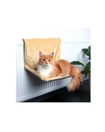 TRIXIE Pat pisică pentru radiator 48 × 26 × 30 cm bej