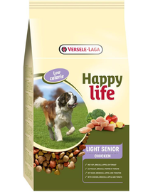 VERSELE-LAGA HAPPY Life light Senior pui 15 kg