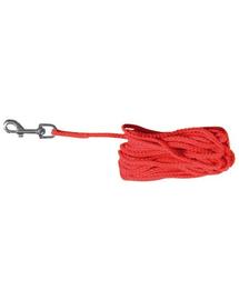 TRIXIE Sfoară nailon 10 M roșu