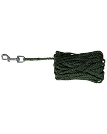 TRIXIE Sfoară nailon 15 M / 5 mm verde
