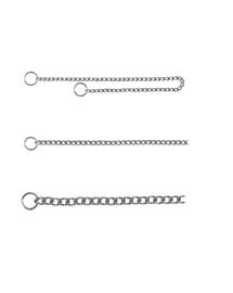 TRIXIE Lanț metal cu un singur rând 50 cm / 2.5 mm