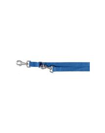 TRIXIE Lesă double 2 M / 20 mm albastru