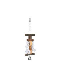 TRIXIE Natural Living toy cu clopoțel/sfoară 38 cm