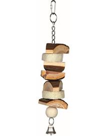 TRIXIE Natural Living toy cu lufă/clopoțel