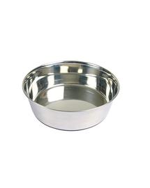 TRIXIE Bol metal cu bază din cauciuc 2.5 l/24cm