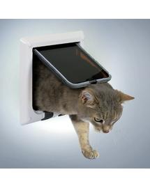 TRIXIE Ușă pentru pisici de luxe alb