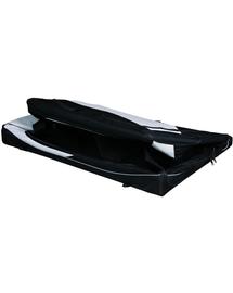 TRIXIE Cutie de transport Vario nailon negru și gri 76 × 48 × 51 cm