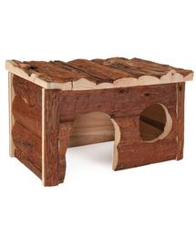 TRIXIE Căsuță Jerrik pentru porcușori de guinea cu acoperiș în valuri 28 x 18 x 16 cm