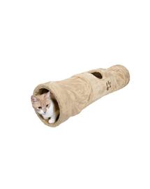TRIXIE Tunel pentru pisici 125 cm bej