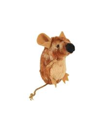 TRIXIE Jucărie șoricel maro cu sunet 8 cm