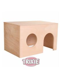 TRIXIE Căsuță pentru porcușori de guinea 24 x 15 x 15 cm