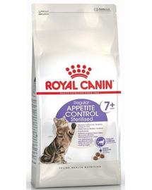 Royal Canin Sterilised 7+ Apetite Control Hrană Uscată Pisică 400 g