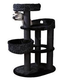 """TRIXIE Sisal pentru pisici """"Filippo"""", 114 cm, gri / negru"""