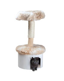 "TRIXIE Sisal pentru pisici ""Meru"",98 cm, alb marmorat / bej"