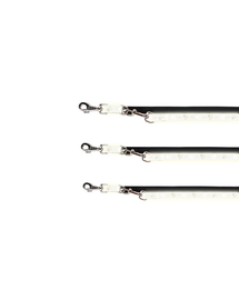 TRIXIE Lesă control reflectorizantă XS S 2 m/15 mm
