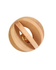 TRIXIE Minge din lemn cu clopoțel