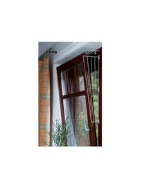 TRIXIE Grătar de protecție pentru geamuri rabatate alb