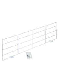 TRIXIE Grătar de protecție pentru geam rabatat - dreptunghiular alb