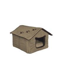 TRIXIE Căsuță pentru pisici 35 x 30 x 40 cm bej / maro