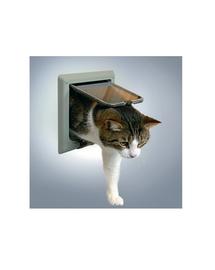TRIXIE Ușă pentru pisici Freecat' gri