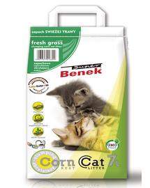 BENEK Super corn cat iarbă proaspătă 7 L