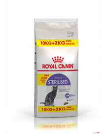 ROYAL CANIN Sterilized 37 10 kg + 2 kg