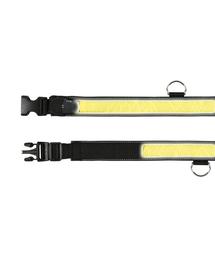 TRIXIE Zgardă cu luminițe S-M 30-40cm/35mm