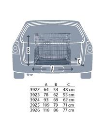 TRIXIE Cușcă de transport 78x62x55cm