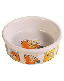 TRIXIE Bol Ceramic pentru porcușor de guinea 240 ml