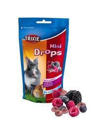 TRIXIE Dropsuri pentru rozătoare fructe de pădure-75 g