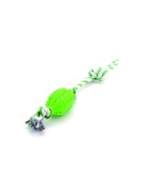COMFY Jucărie Zibi minge pe sfoară verde 45 cm