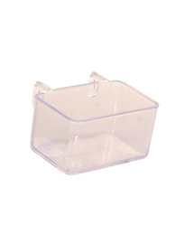 TRIXIE Hrănitor dublu din plastic 50 ml