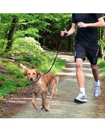 TRIXIE Lesă pentru jogging 0.90–1.30 M cu amortizor