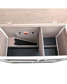 TRIXIE Cușcă exterioară pentru rozătoare 104 × 97 × 52 cm, gri