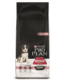 PURINA PRO PLAN MEDIUM PUPPY Sensitive Skin 12kg
