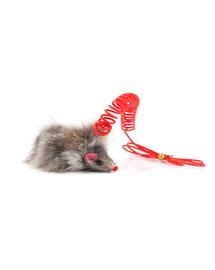 COMFY Jucărie mini șoricel cu arc 7,5 cm