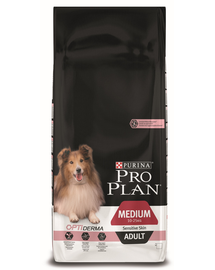 PURINA PRO PLAN MEDIUM ADULT Sensitive Skin 14kg