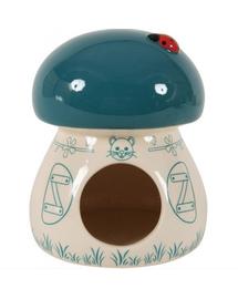 ZOLUX Căsuță ceramică ciupercuță albastru
