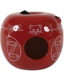 ZOLUX Căsuță ceramică măr roșu