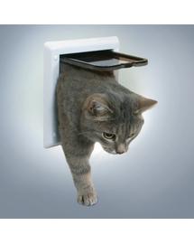 TRIXIE Ușă pendulum pentru pisici white 13mm