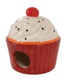 ZOLUX Căsuță ceramică cookie roșu
