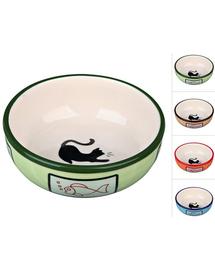TRIXIE Bol Ceramic pentru pisici 0.35 l / o 12.5 cm