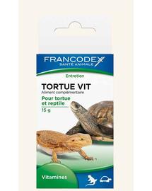 FRANCODEX Vitamine pentru țestoase și reptile 15 g