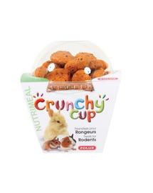 ZOLUX Crunchy Cup Candy snack morcov / fibre de in 200 g