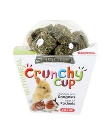 ZOLUX Crunchy Cup Blocks snack lucernă / morcov 200 g
