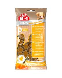 8IN1 Recompensă Minis Turkey & Pumpkin 100 g