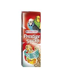 VERSELE LAGA Prestige Sticks Budgies Exotic Fruit 60 g Gustare cu fructe pentru peruș